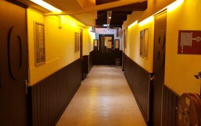 Nieuw ventilatiesysteem Jamstudio's